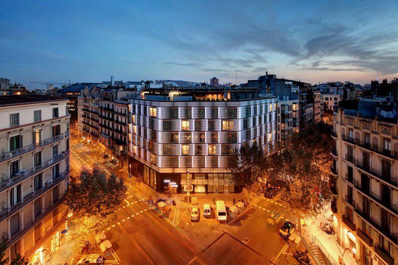 Olivia Balmes, el primer hotel de Barcelona con calificación energética A en fase de edificio acabado