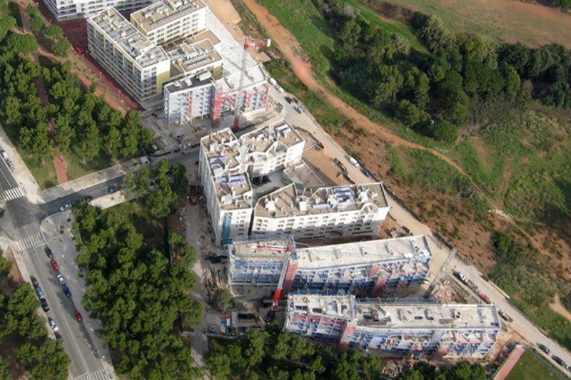 Edificios de viviendas Terrassa