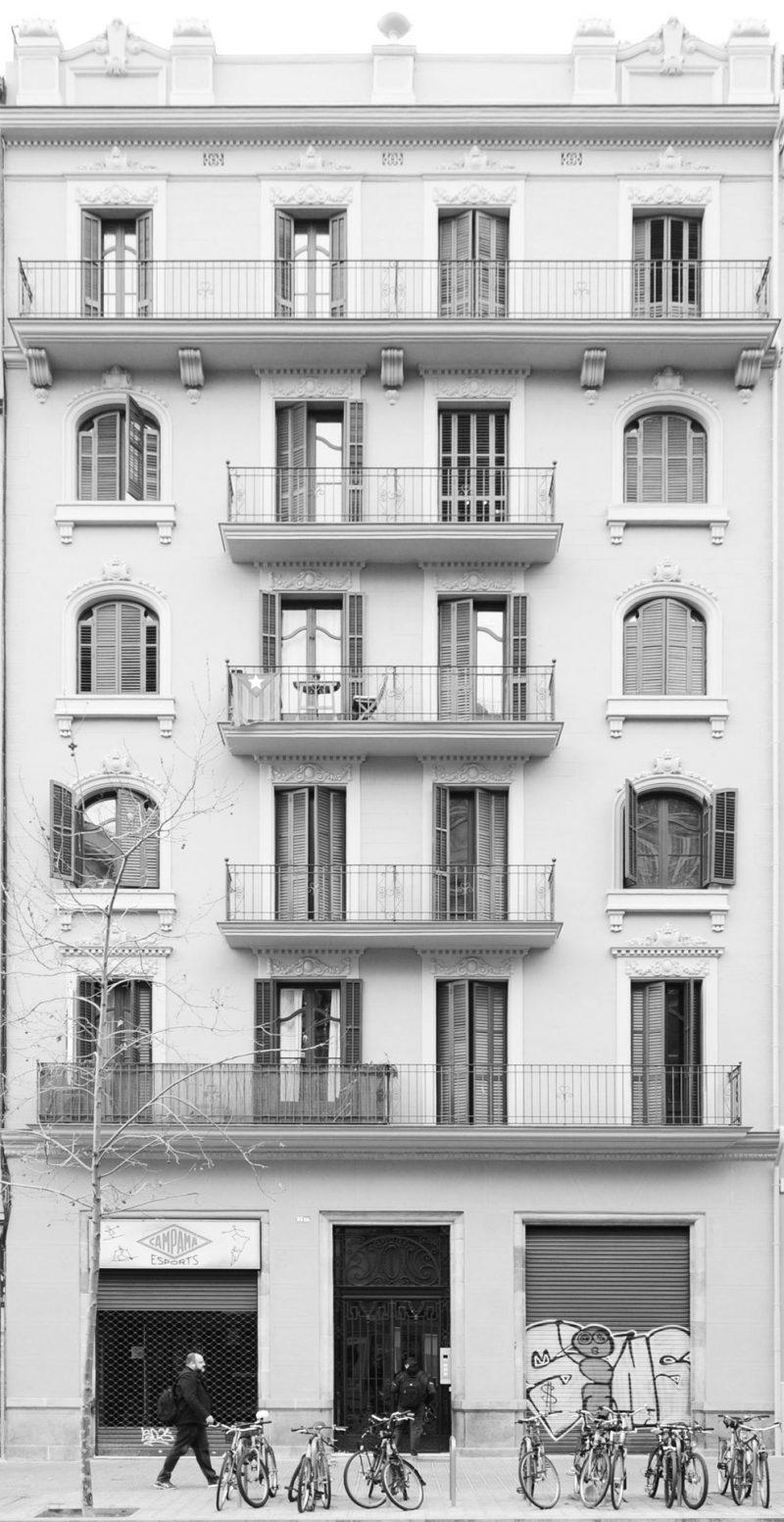 Rehabilitación edificio de viviendas Barcelona