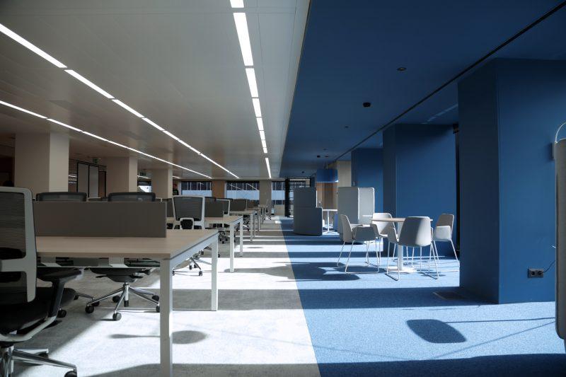 Oficinas CaixaBank Edificio DAU Planta 6